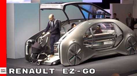 Renault Ez Go Concept At Geneva Motor Show 2018