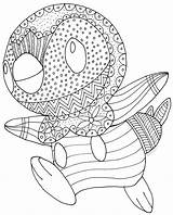 Coloring Pages Cuttlefish Piplup Pokemon Getcolorings Colouring Happy Printable sketch template