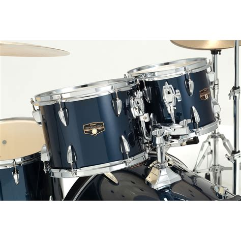 tama imperialstar  midnight blue drum kit