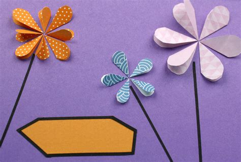 geburtstagskarte basteln aus papier geburtstagskarte basteln