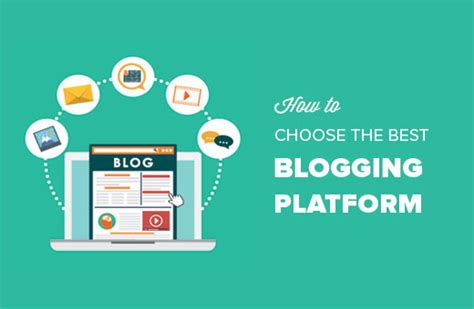 How To Choose The Best Blogging Platform In 2019 (compared