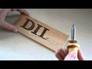 wood burning 101 pyrography letters signs for the garden With wood burning tool tips letters