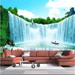custom photo wallpaper living tv company office landscape