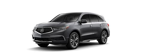 New 2018 Acura Mdx Shawd With Technology Package 4d Sport