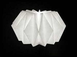 Origami Lampe Anleitung : origami lampenschirm selber basteln ~ Watch28wear.com Haus und Dekorationen