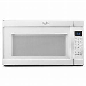 Whirlpool 2 0 Cu  Ft  Over The Range Microwave In White
