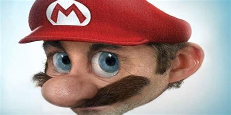 Super Mario 15 Cartoon Characters In Real Life
