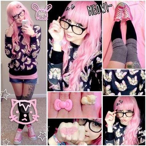 alexas style blog meow meow kawaii cat daily style post