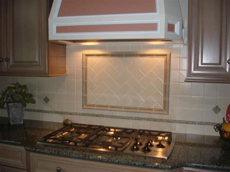 tiled kitchens ideas kitchen brown glass mosaic tiled backsplash with wooden 2800