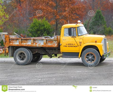 old yellow old yellow truck royalty free stock photography image