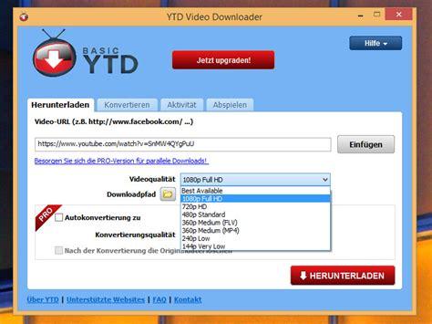 Ytd (youtube Downloader