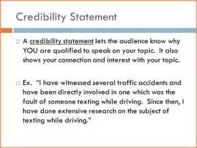 Excel Travel Template 8 Credibility Statement Exles Registration Statement 2017