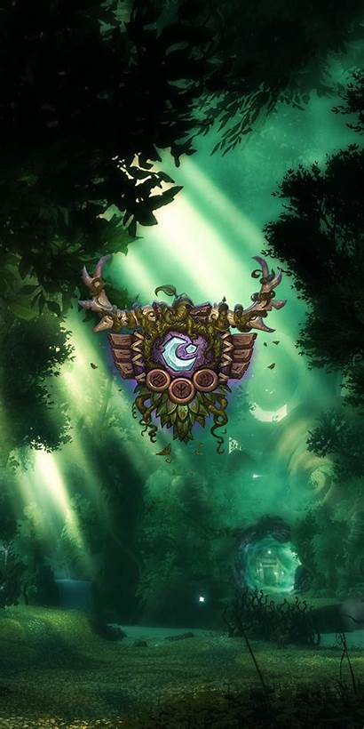 Phone Wow Wallpapers Warcraft Cave