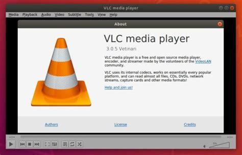 vlc 3 0 5 released how to install it in ubuntu 04 ubuntuhandbook