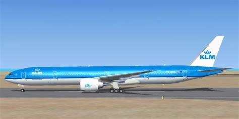 nieuw interieur klm 777 klm boeing 777 300 er for fsx