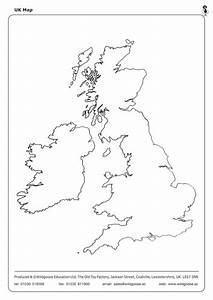 Label The Uk And Outline Maps By Wildgooseeducation