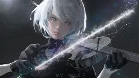 Nier Automata Animated Wallpaper - nier automata silence wallpaper engine