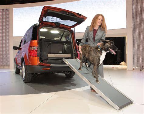 honda element  dog friendly vehicle