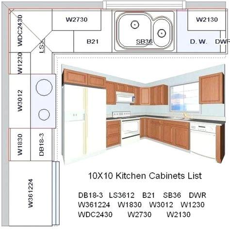 10x10 kitchen floor plans besto