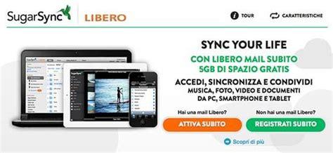 libero mail mobil libero e sugarsync presentano un innovativo servizio di