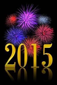New Year 2015 Fireworks Stock Photos - Image: 36416953