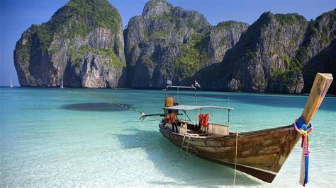 Sailing Thailand Phuket To Koh Phi Phi In Thailand Asia