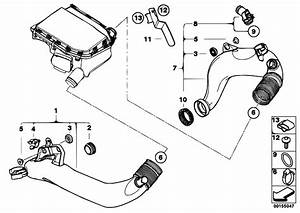 Original Parts For E89 Z4 35i N54 Roadster    Fuel Preparation System   Air Duct