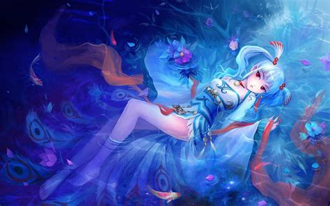 Anime Water Wallpaper - water in laying anime wallpapers 1680x1050 185420