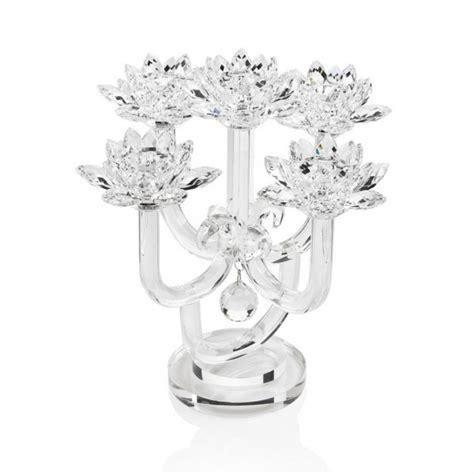 candelieri cristallo 80961 candeliere in cristallo a 5 fiamme 36 5x36 5x37