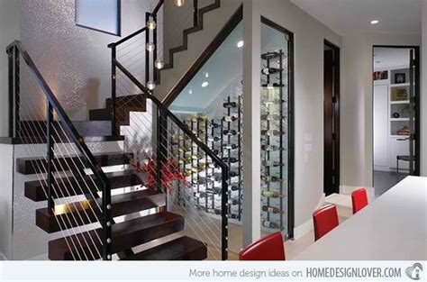 space savvy  stairs wine cellar ideas basement