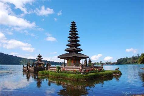 panorama alam objek wisata bedugul  eksotis wisata