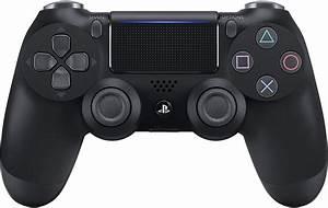 New Sony Playstation4 Wireless Controller Jet Black