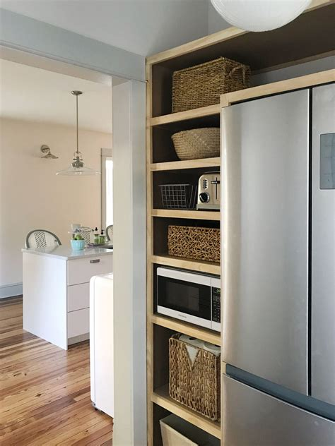 built  pantry shelves young house love