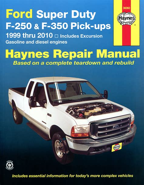 super duty haynes manuals