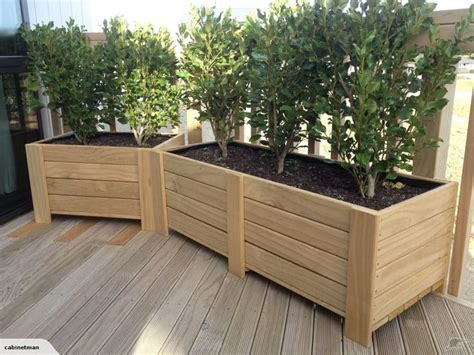 planter box mm trade  large wooden planters