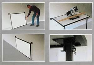 Tisch Klappbar Wand : werkbank klappbar tisch mit mdf wand klapptisch metalltisch 200 kg belastbar ~ Watch28wear.com Haus und Dekorationen