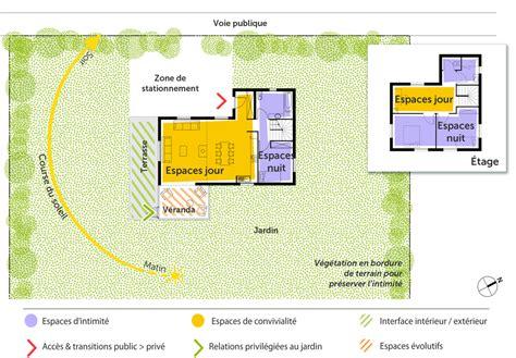 modele de cuisine ouverte sur salle a manger découvrez 5 plans de maisons de 100m et les plans de masse