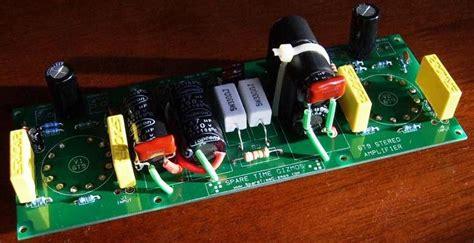 diy  tube valve single ended amplifier kit