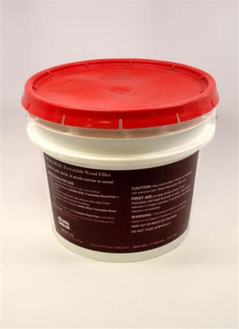 Dura Seal Brazilian Cherry Trowelable Wood Filler 3.5