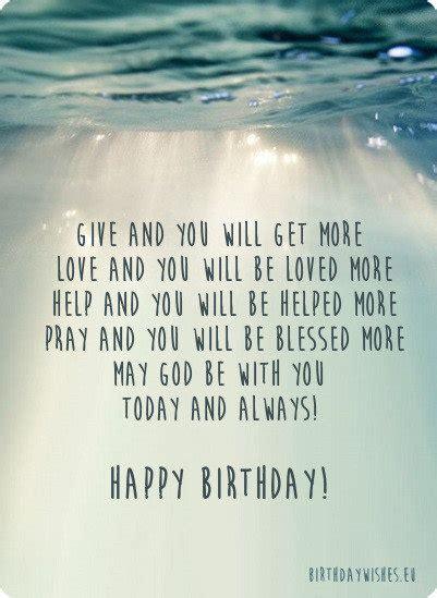 religious birthday wishes  christian
