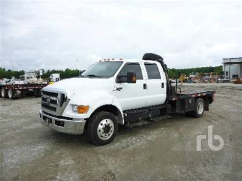 Ford F 650 Truck by Ford F650 Flatbed Trucks For Sale Used Trucks On Buysellsearch