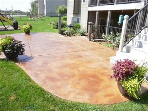 staining concrete patios do it yourself
