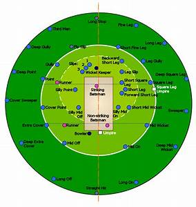 Cricket 360  Cricket Ground And Fielding Positions