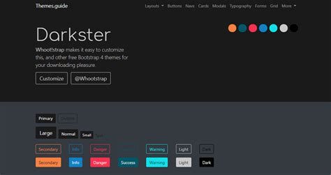Bootstrap 4 Themes Bootstrap 4 Themes Guide