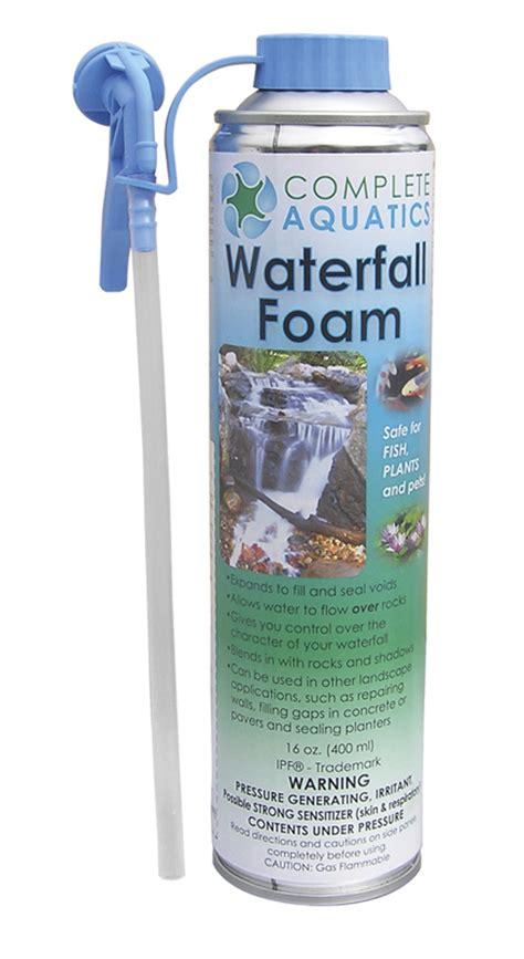 Aquascape Waterfall Foam by Complete Aquatics Black Waterfall Foam Diy Aquascapes