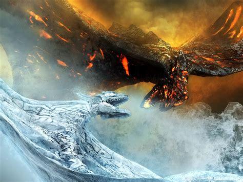 ice dragon wallpapers pixelstalknet