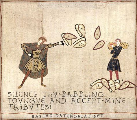 Tapestry Meme - image 336818 medieval macros bayeux tapestry parodies know your meme