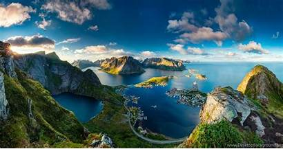 Wallpaperaccess Wallpapers Norway Backgrounds Reinebringen Stunning Landscape