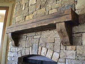 Custom Fireplace Mantles  I Love This Simple Wood One   Bricks All The Way To The Ceiling