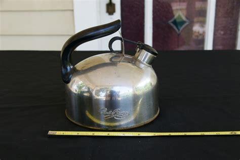 retro tea kettle vintage teapots 1949